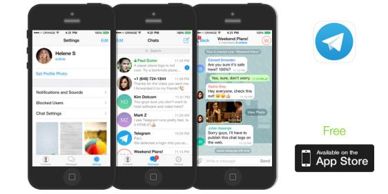 Pendatang Baru, Telegram Messenger!!! | risandashop